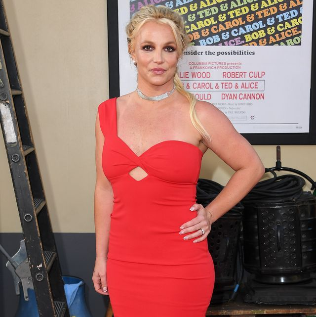 hollywood, california   july 22 britney spears attends the sony pictures once upon a timein hollywood los angeles premiere on july 22, 2019 in hollywood, california photo by steve granitzwireimage