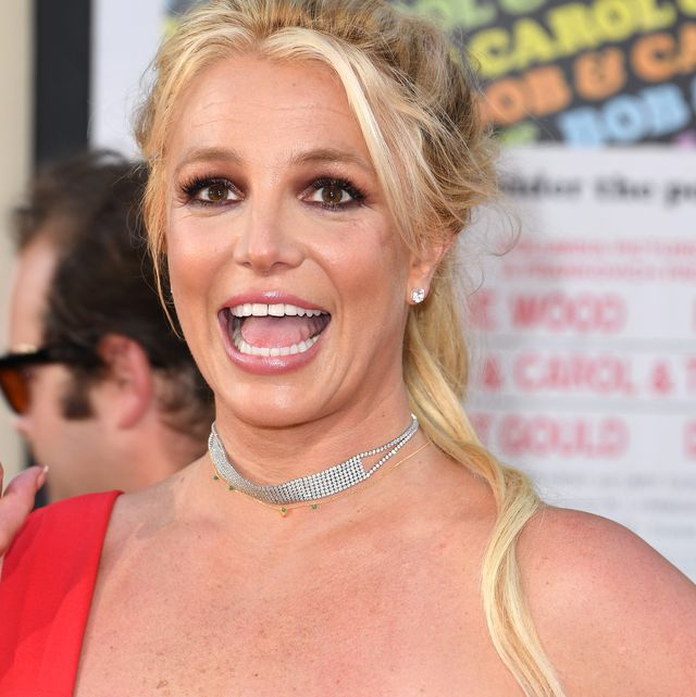 hollywood, california   july 22 britney spears arrives at the sony pictures once upon a timein hollywood los angeles premiere on july 22, 2019 in hollywood, california photo by steve granitzwireimage