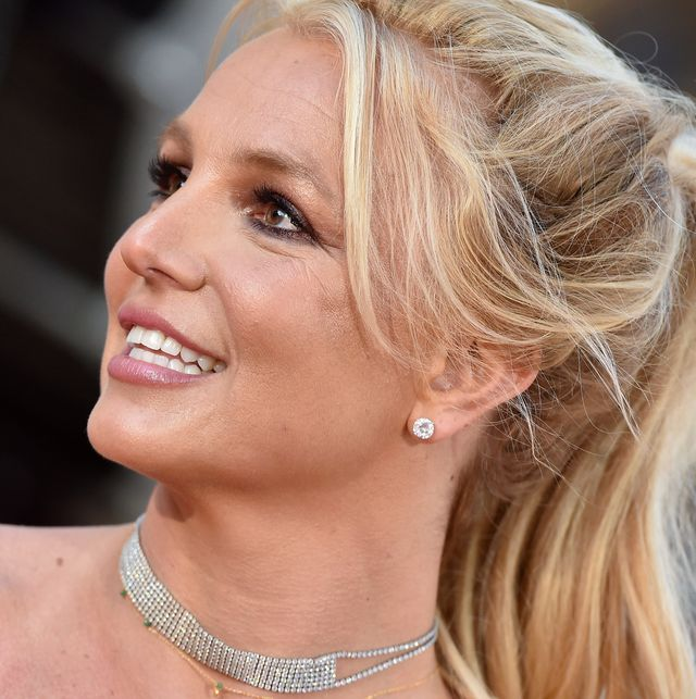 hollywood, california   july 22 britney spears attends sony pictures once upon a time  in hollywood los angeles premiere on july 22, 2019 in hollywood, california photo by axellebauer griffinfilmmagic
