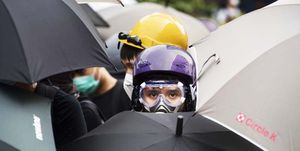 Demonstrations continue in Hong Kong