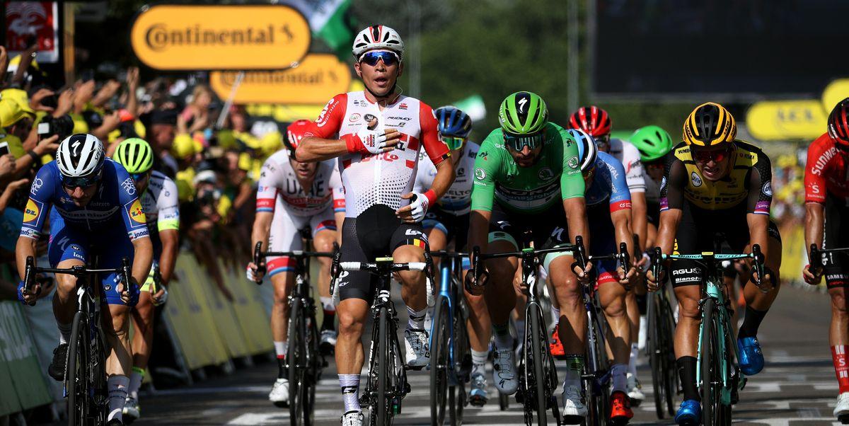 Caleb Ewan Wins Tour De France Stage 16 Jakob Fuglsang
