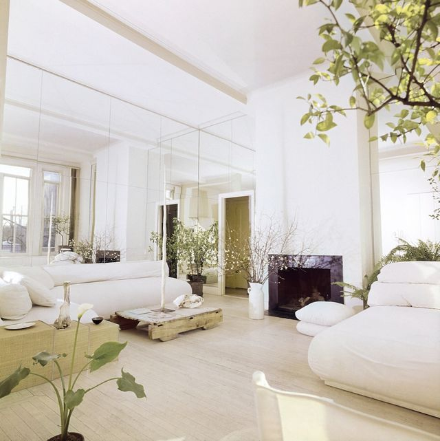 Living Room in Elsa Peretti's Apartment in New York, Vogue