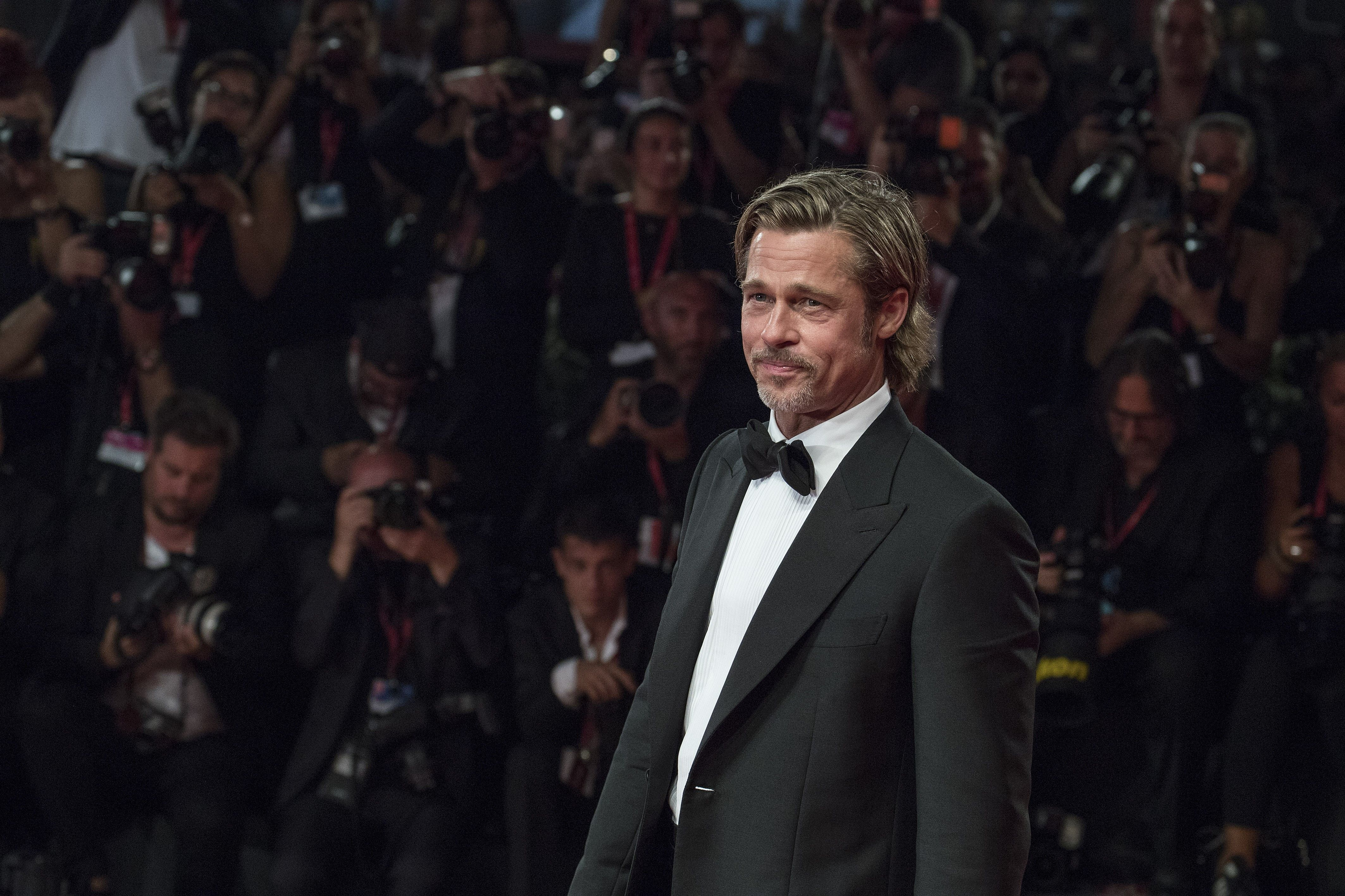 Brad Pitt Followed The Red Carpet Rules (And Won)