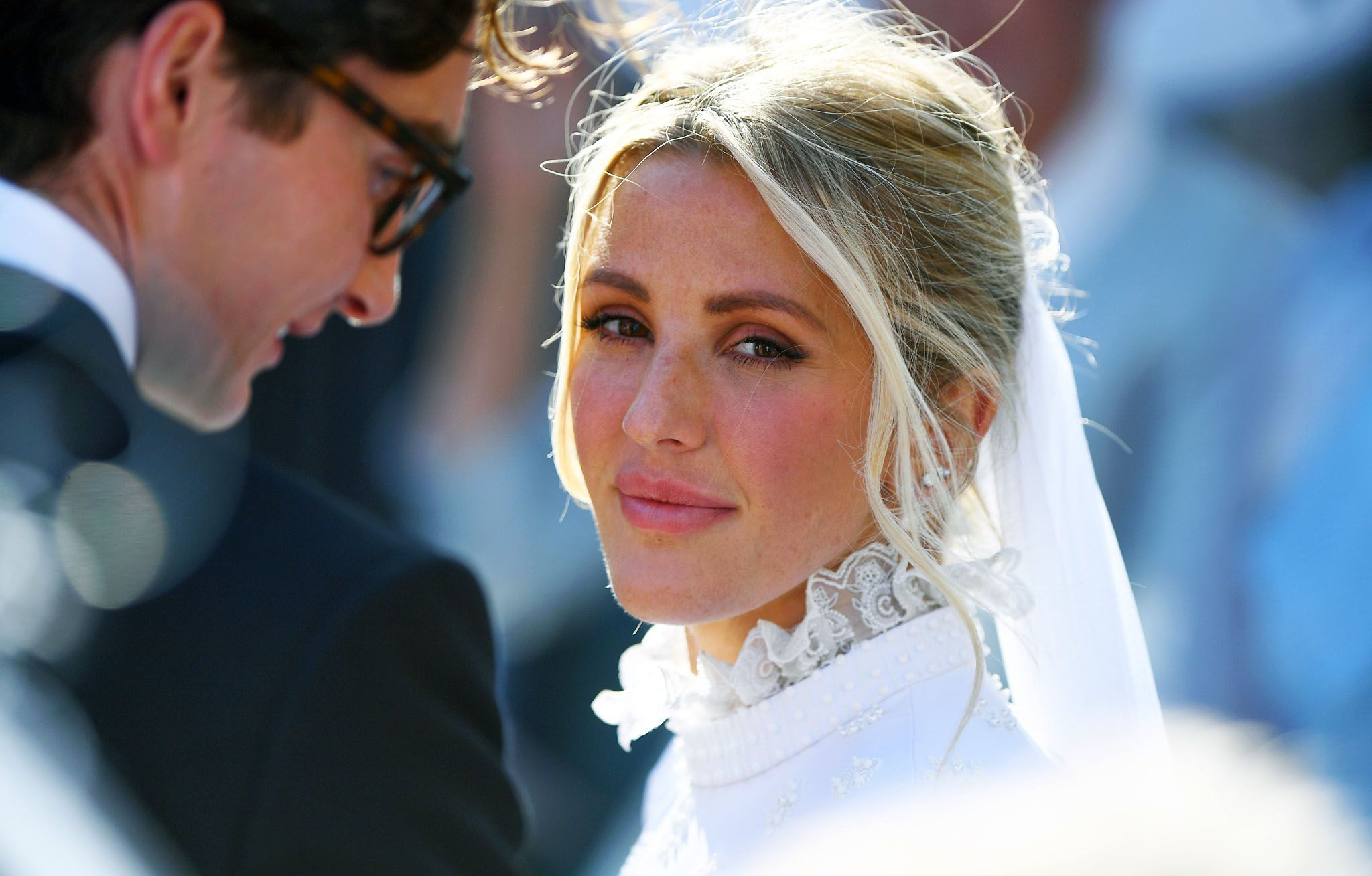 Ellie Goulding Marries Caspar Jopling In England