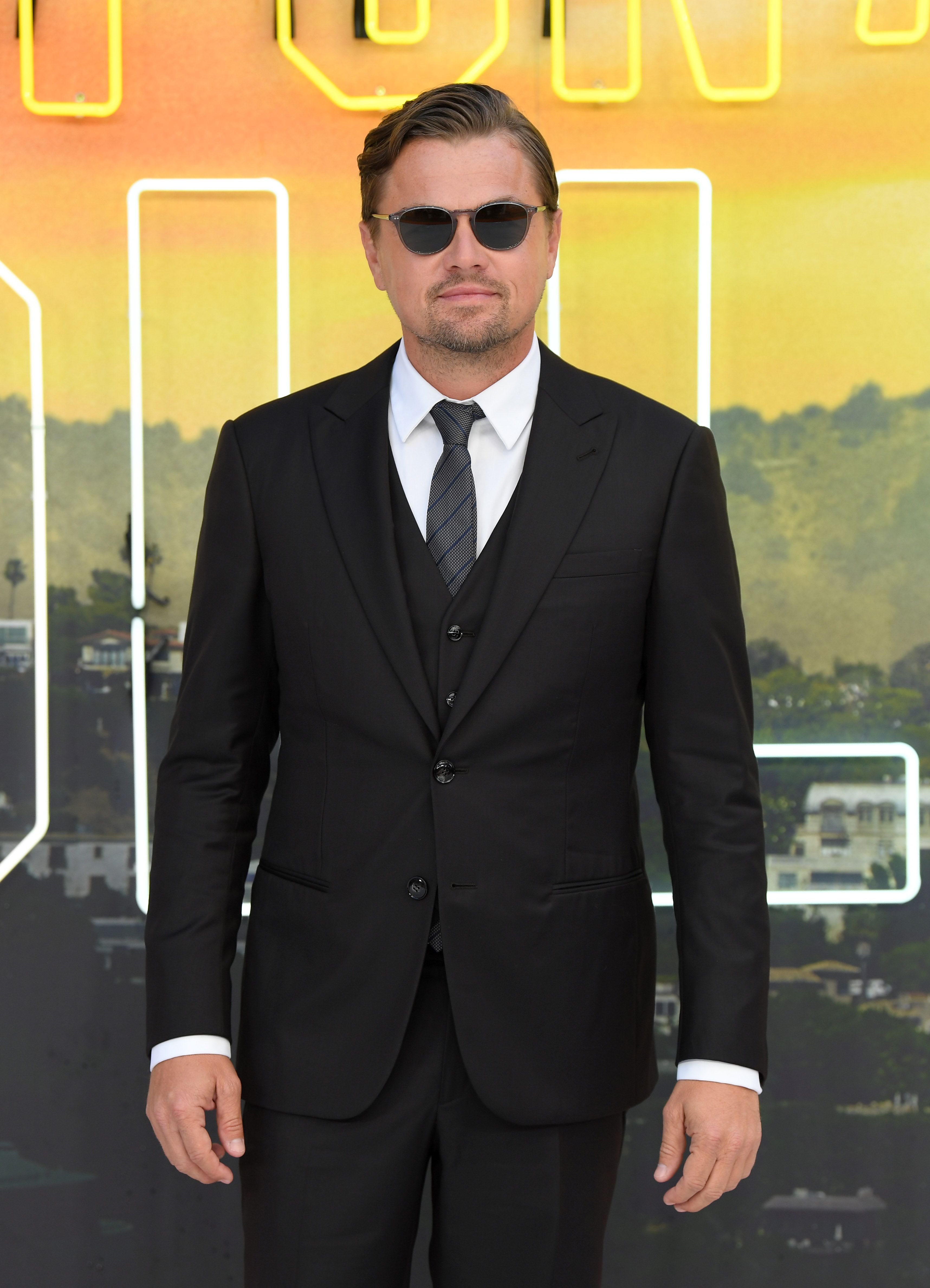 Leonardo DiCaprio Heads Back To Wall Street For The 'Once Upon A Time In Hollywood' Premiere