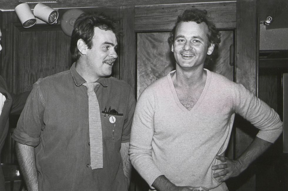 Bill Murray and Dan Aykroyd in 1985.
