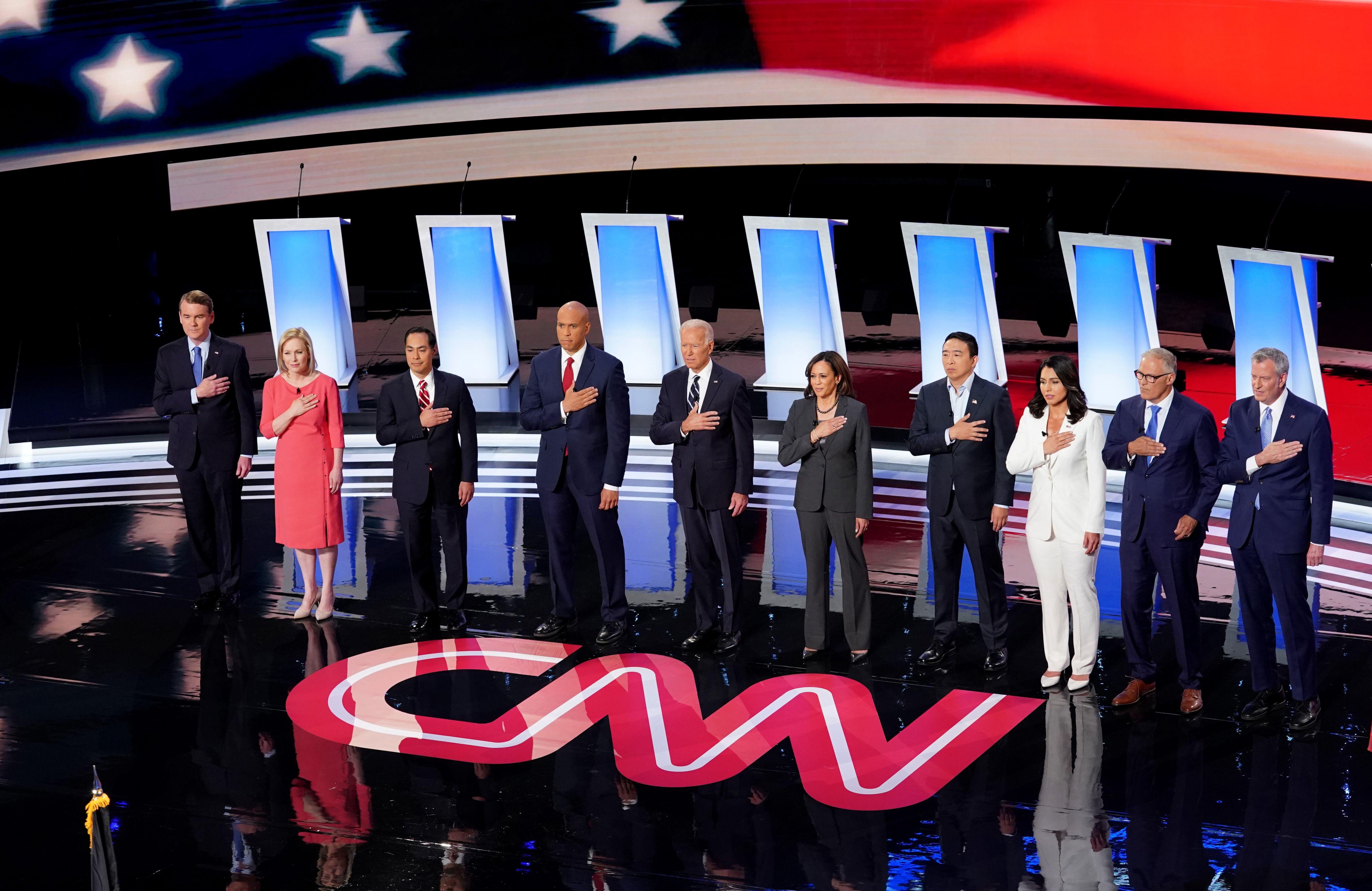 6 Takeaways From Night Two of CNN's Democratic Debates