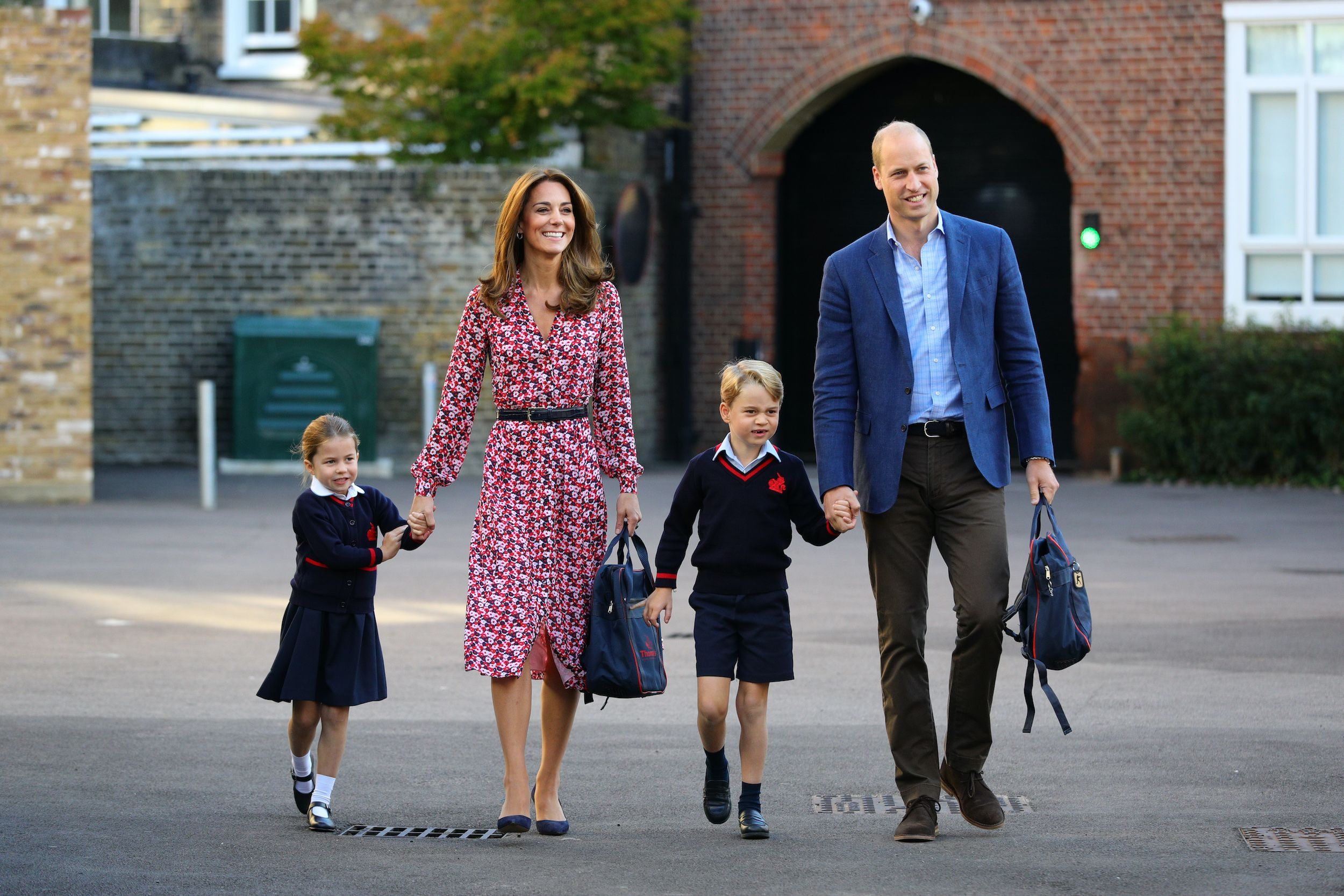 See the pictures of Princess Charlotte's first day of school