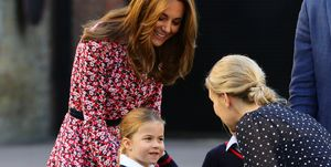 Princess Charlotte - First Day Of School