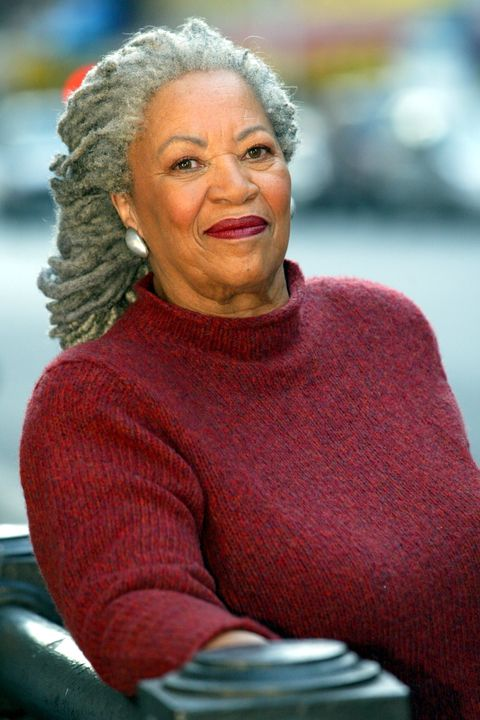 Author Toni Morrison photographed in Manhattan