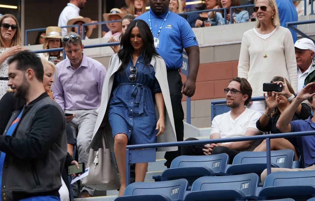 Meghan Markle Wore a Casual Denim Dress to the US Open Final