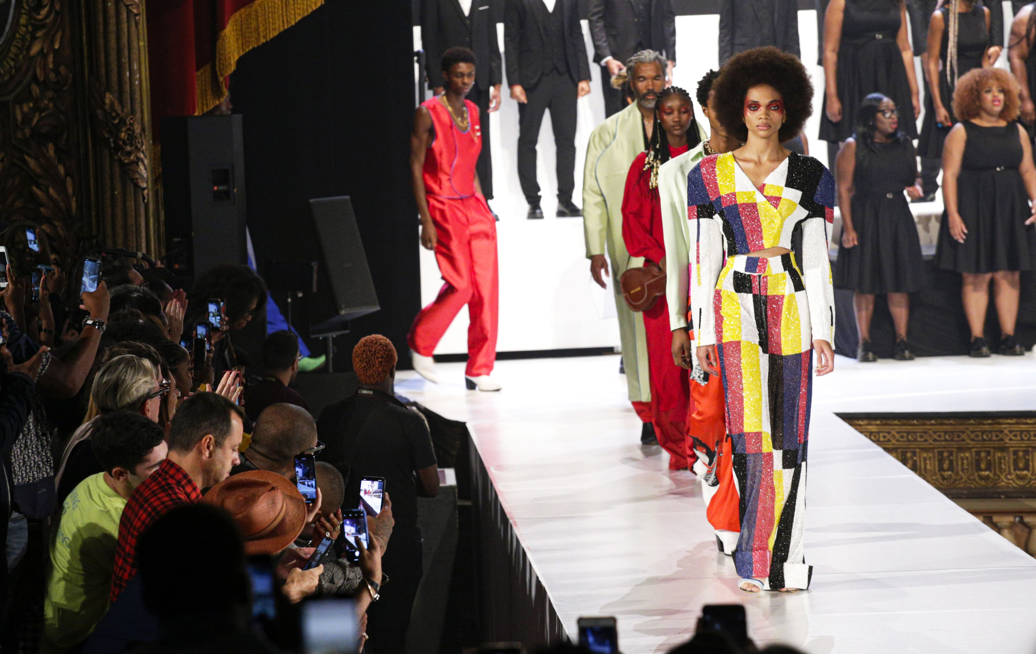 See All the Looks from the Pyer Moss Spring 2020 Show