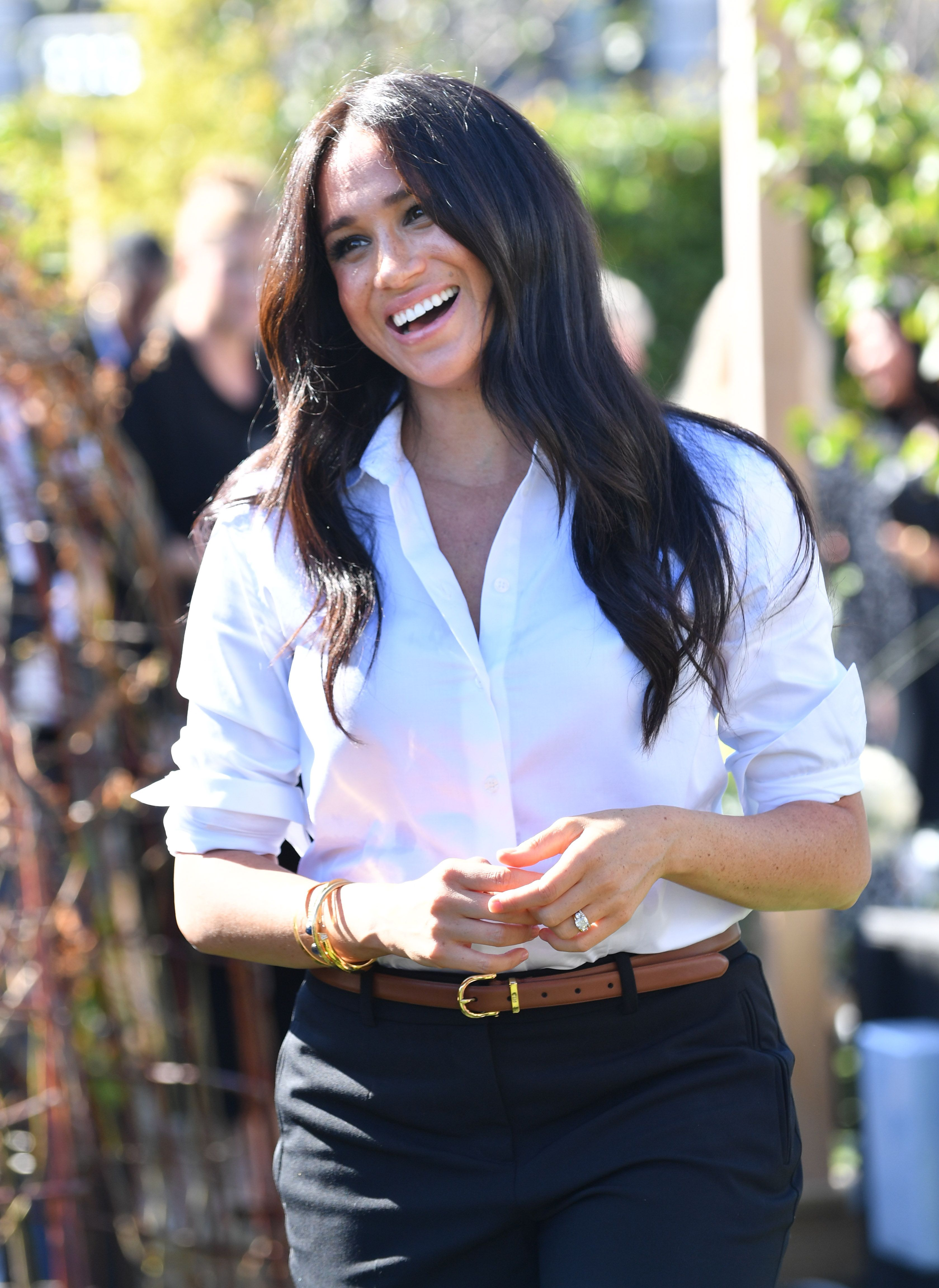 Here Are Never-Before-Seen Photos of Meghan Markle at Her Smart Works Collection Shoot