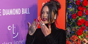 Rihanna attends 5th Annual Diamond Ball benefiting the Clara