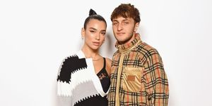 Dua Lip and Anwar Hadid - Burberry Spring Summer 2020 Show