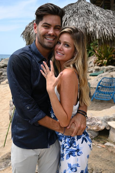 bachelor in paradise   607   in a moving and stunning three hour season finale, chris harrison and a studio audience watch as the four remaining couples   demi and kristian, chris and katie, dylan and hannah, and clay and nicole   spend one last night in the fantasy suites deciding if they are ready to take their relationships to the next level outside of paradise no one knows what the night will bring to these love struck couples engagements, breakups and plenty of tears springing from both joy and heartbreak make for a compelling season finale to bachelor in paradise, tuesday, sept 17 800 1100 pm, edt, on abc john fleenor via getty images dylan barbour, hannah godwin