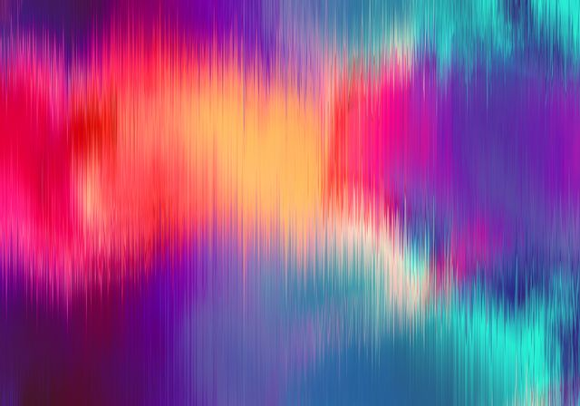 the magical form of rainbow smoke, abstract background