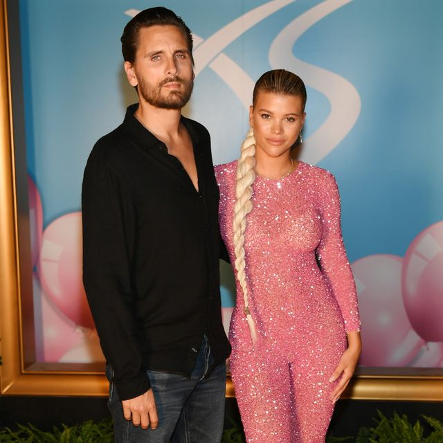 las vegas, nevada   august 24 scott disick and sofia richie arrive at sophia richies 21st birthday celebration at xs nightclub at wynn las vegas on august 24, 2019 in las vegas, nevada photo by denise truscellogetty images for wynn nightlife