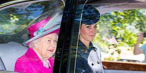 Royal Family Members Attend Crathie Kirk Church