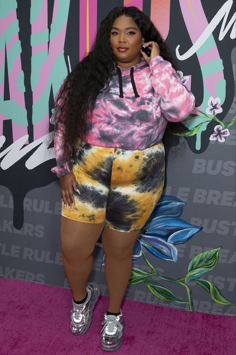 new york, united states   20190921 lizzo attends bustles 2nd annual rule breakers festival at lefrak center at lakeside photo by lev radinpacific presslightrocket via getty images
