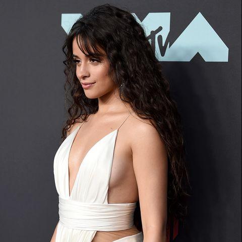 Camila Cabello 2019 Vmas Red Carpet Wedding Dress