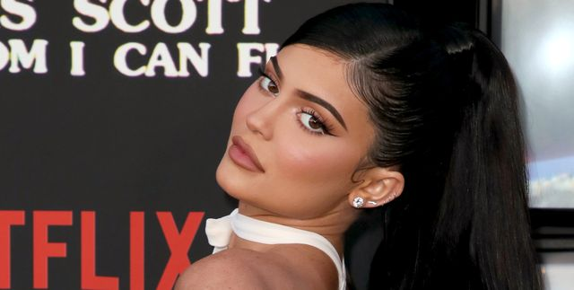 santa monica, california   august 27 kylie jenner attends the premiere of netflixs travis scott look mom i can fly at barker hangar on august 27, 2019 in santa monica, california photo by david livingstonwireimage
