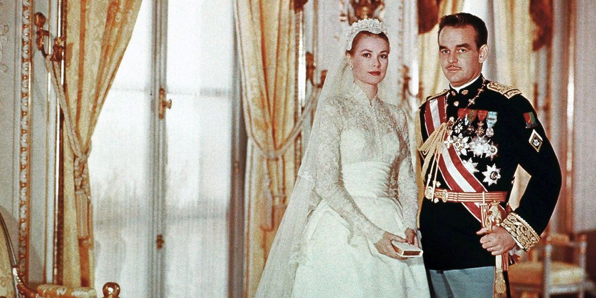 Grace Kelly\'s Wedding Details - Photos of Grace Kelly\'s Wedding Dress