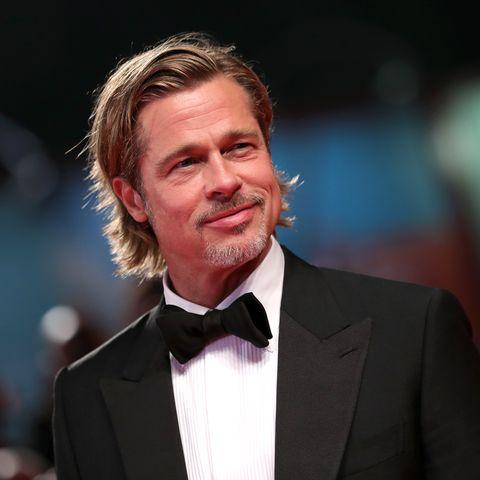 Brad Pitt name tag - brad pitt