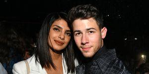Priyanka Chopra and Nick Jonas - John Varvatos Villa One Tequila Launch Party