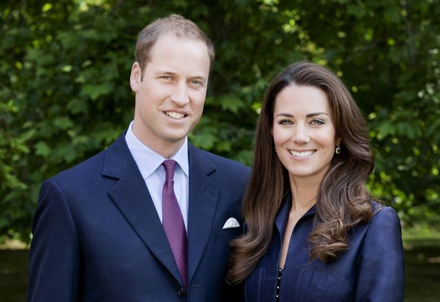london, united kingdom   june 3  editorial use only in this handout image supplied by st jamess palace, prince william, duke of cambridge and catherine, duchess of cambridge pose for the official tour portrait for their trip to canada and california in the gardens of clarence house on june 3,  2011 in london england the newly married royal couple will be undertaking their first official joint tour to canada and california from june 30th  the trip will begin with canada celebrations in ottawa and include highlights such as the calgary stampede and a visit to yellowknife photo by chris jackson  getty images for st jamess palace
