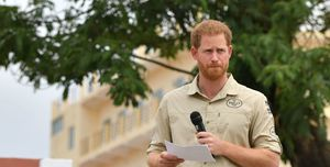 The Duke Of Sussex Visits Angola - Day One