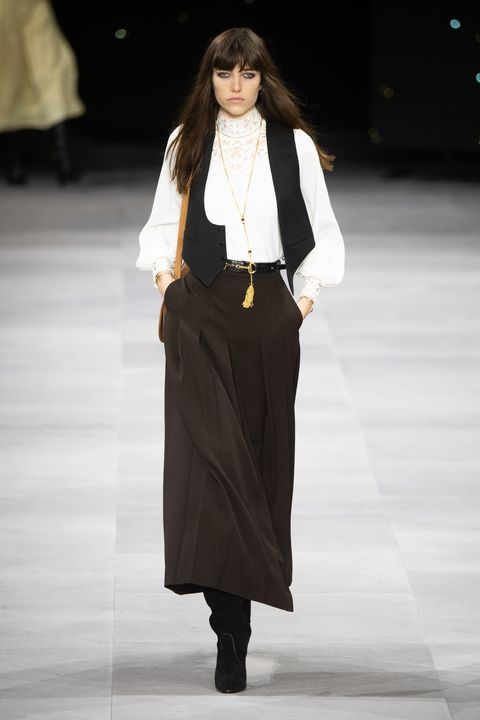 Celine : Runway - Paris Fashion Week - Womenswear Spring Summer 2020