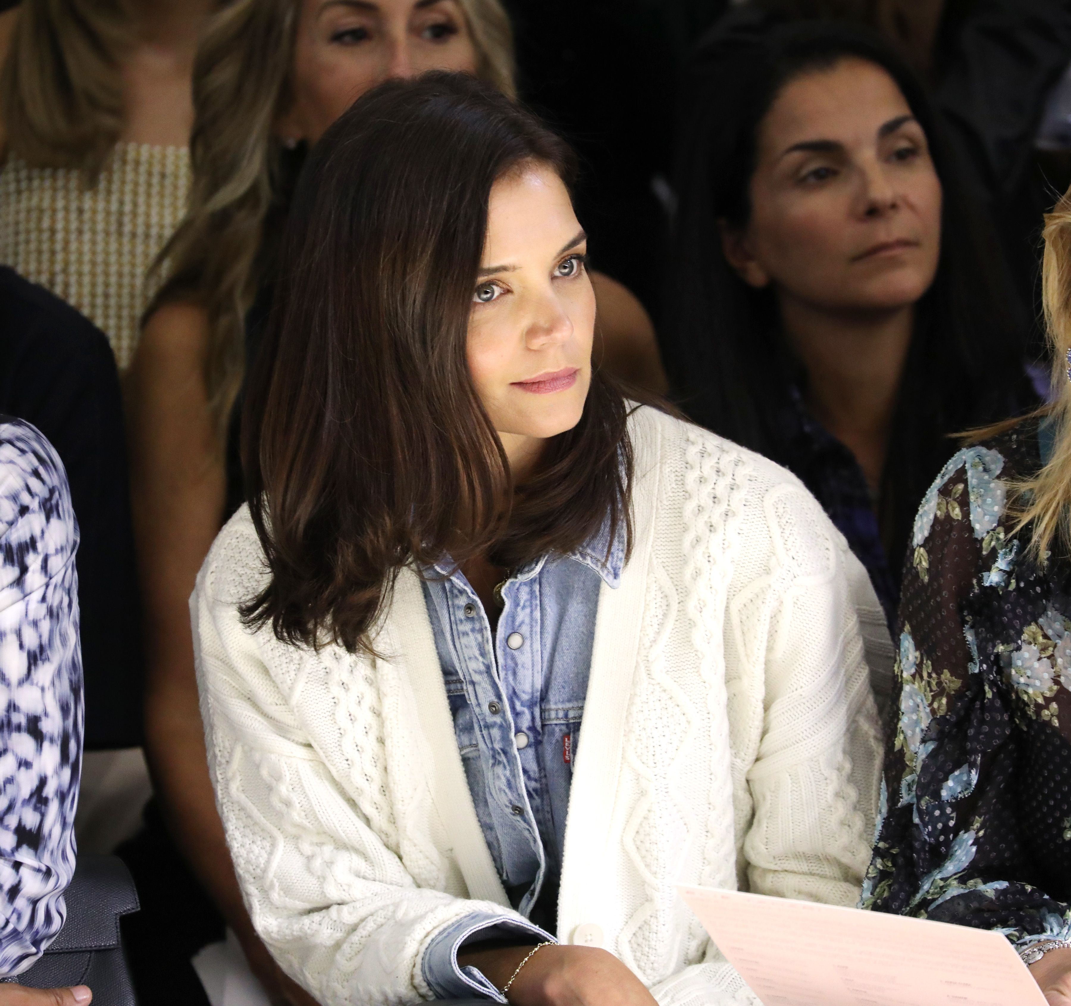 Katie Holmes Is Absolutely Feeling Herself at NYFW