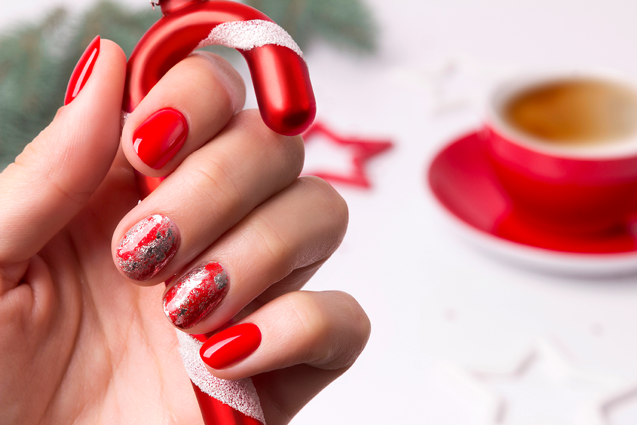 10++ Christmas Nails 2020 Pinterest