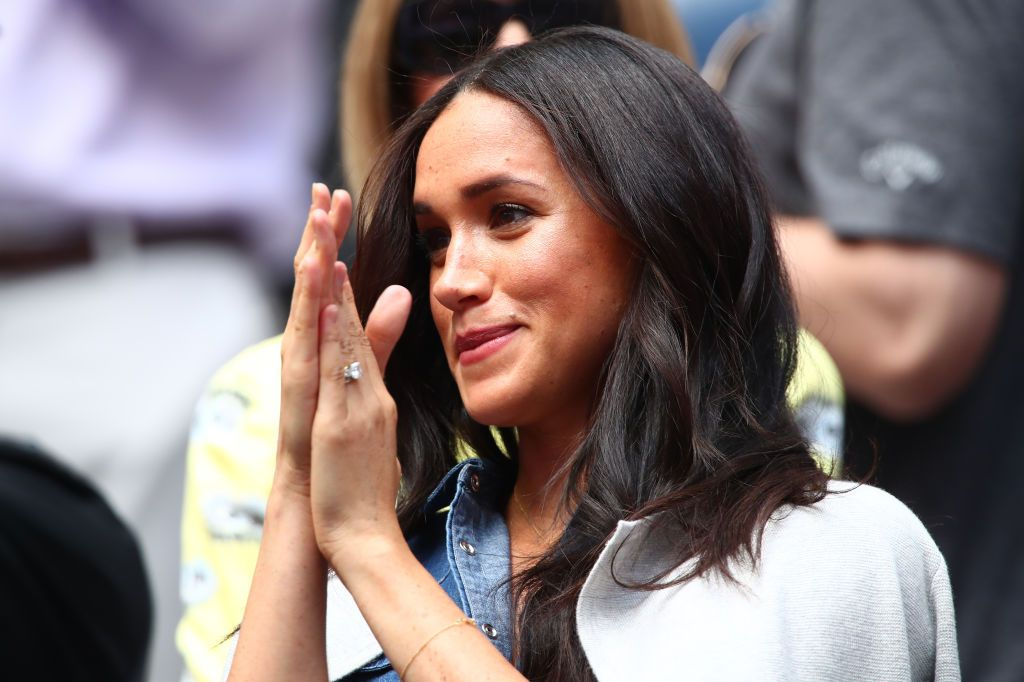 Meghan Markle cheers Serena Williams on at the US Open
