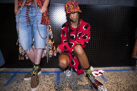 R13 - Backstage - September 2019 - New York Fashion Week