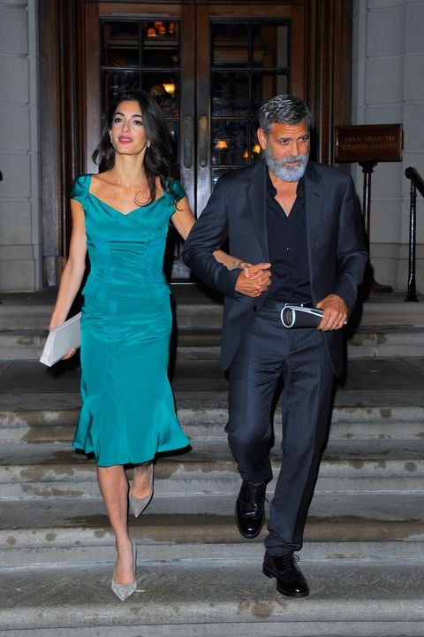 George and Amal heading for The Frick, NYC tonight Gettyimages-1173076758