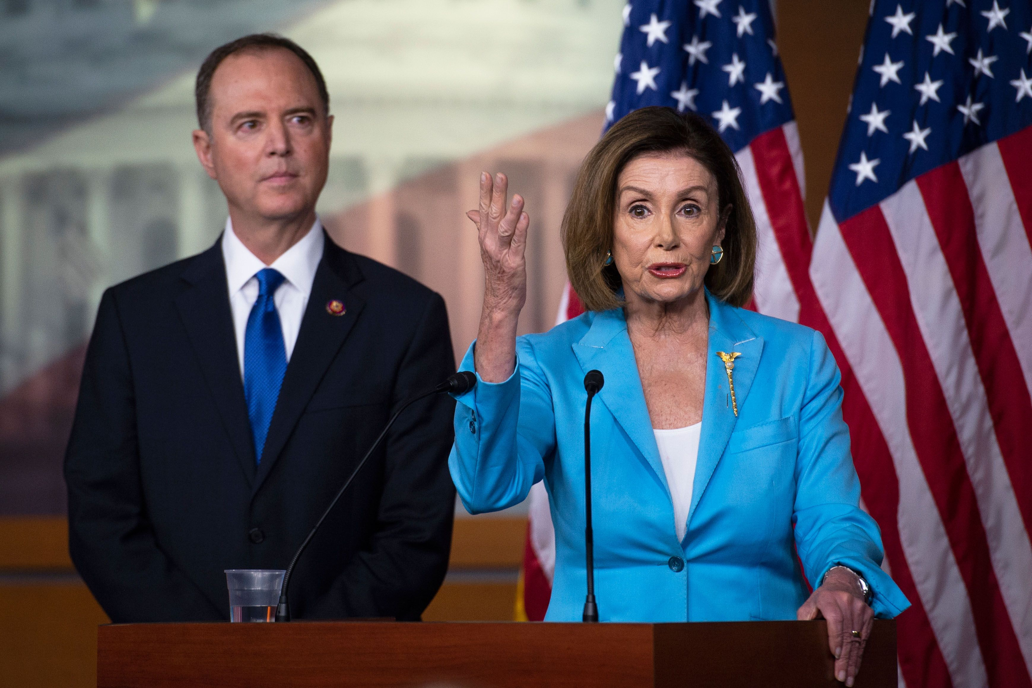 Nancy Pelosi and Adam Schiff Just Provided a Preemptive Autopsy of Trump's Presidency*