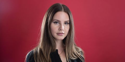 seattle, wa   october 02  singer lana del rey poses for a portrait during a visit to 1077 the end on october 2, 2019 in seattle, washington  photo by mat haywardgetty images