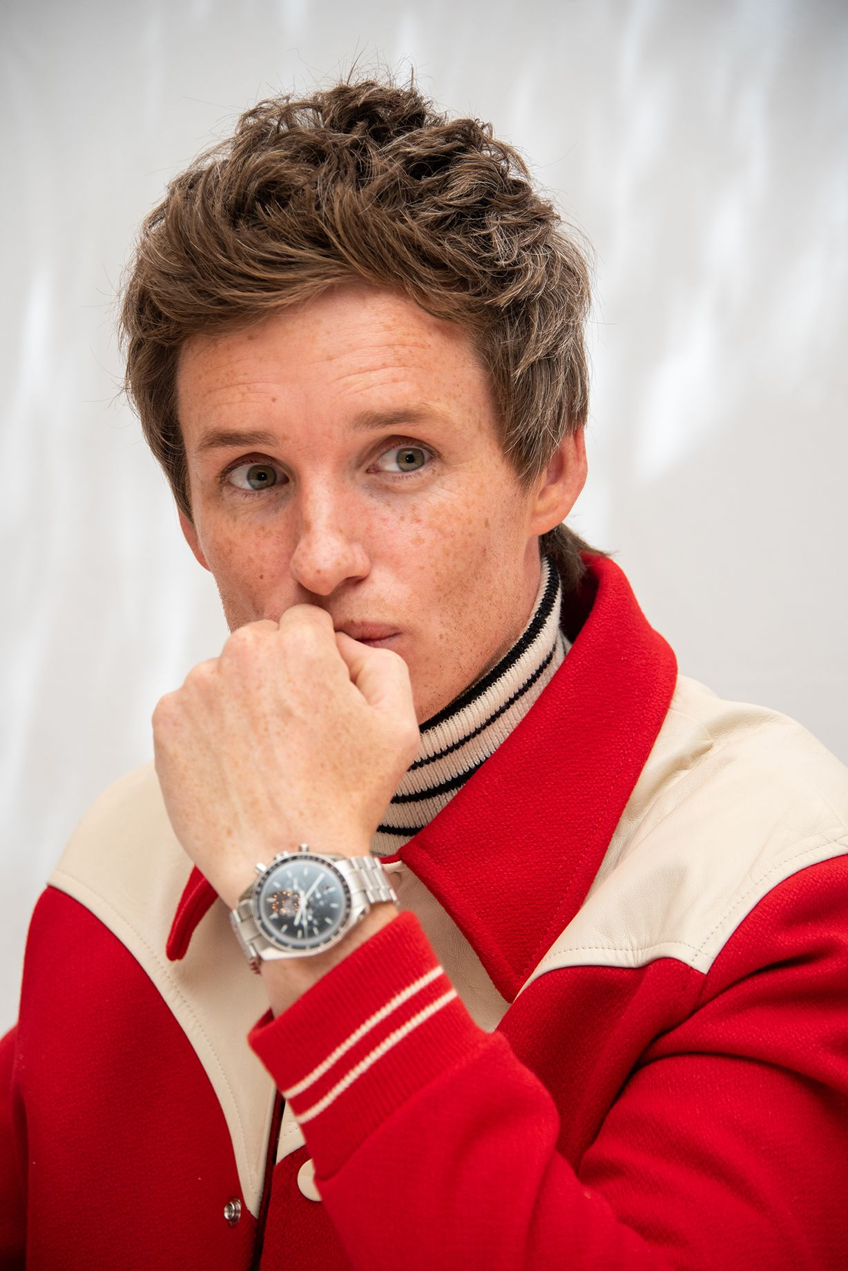 Eddie Redmayne's Watch Is A Master Of The Universe