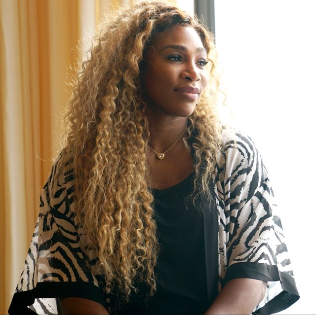new york, new york   september 09 23 time grand slam champion, olympian  designer serena williams speaks during real talk with two female champions inspiring the next generation as a part of nyfw the talks presented by wheaties at spring studios during new york fashion week the shows on september 09, 2019 in new york city photo by manny carabelgetty images
