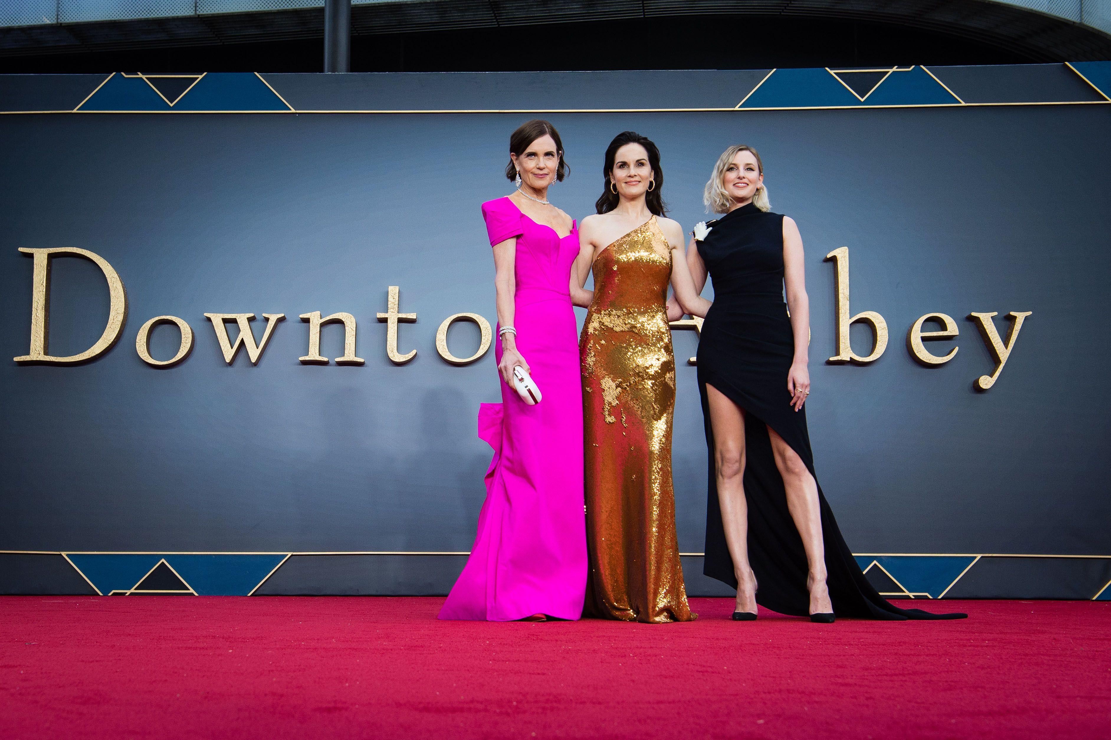 Inside the Downton Abbey film premiere