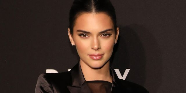 new york, new york   september 09 kendall jenner attends the party celebrating the 30th anniversary of dkny at st anns warehouse on september 09, 2019 in new york city photo by taylor hillwireimage
