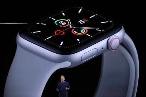 cupertino, california   september 10 apples stan ng talks about the new apple watch series 5 during a special event on september 10, 2019 in the steve jobs theater on apples cupertino, california campus apple unveiled new products during the event  photo by justin sullivangetty images