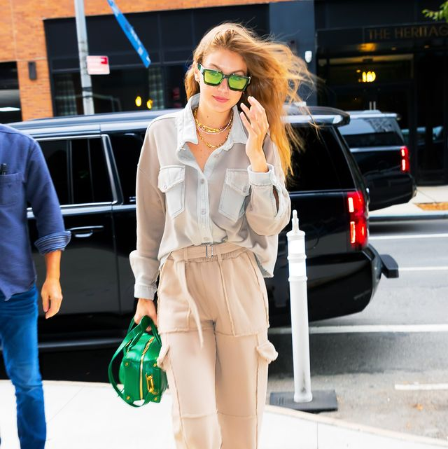Kaia Gerber Gigi Hadid Kim Kardashian West Street Style The Best Street Style From New York Fashion Week Spring Summer 2020
