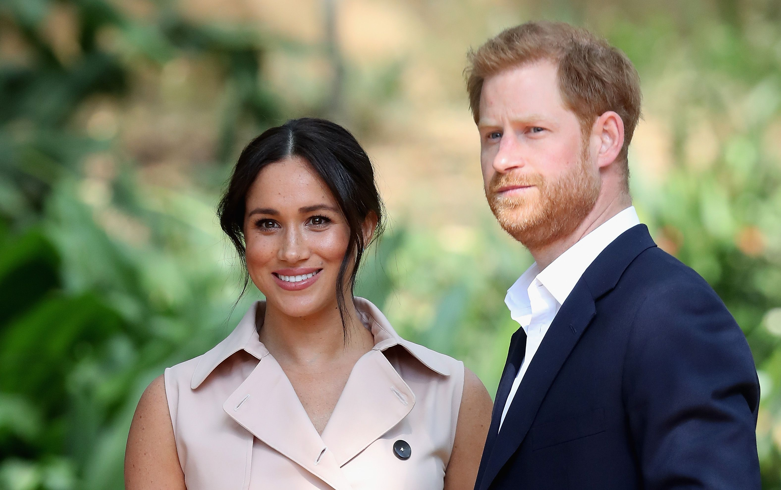 Ed Sheeran visits Prince Harry and Meghan Markle 'at home'