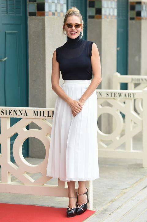 Sienna Miller : Photocall - 45th Deauville American Film Festival