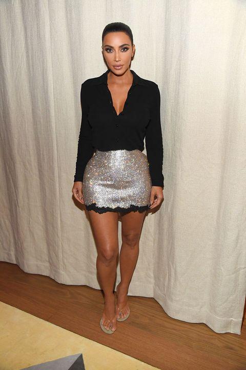 kim kardashian nyfw style