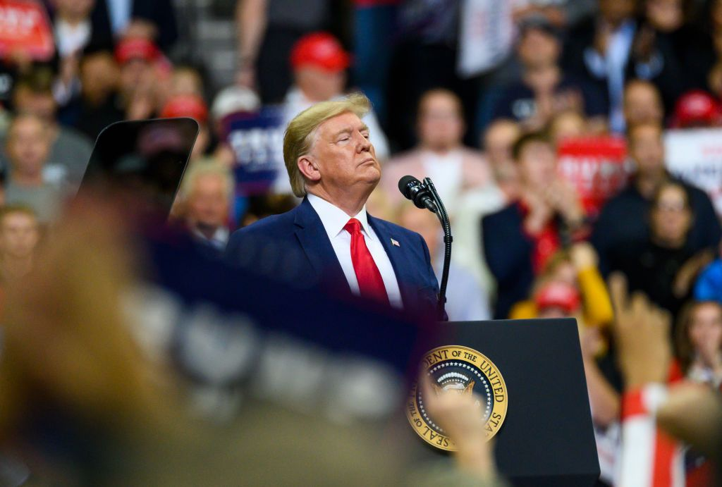 Donald Trump Whipped Up a Slanderous Attack on Ilhan Omar at His Minneapolis Rally