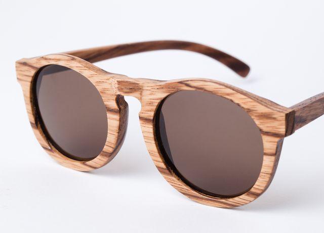 wood glasses